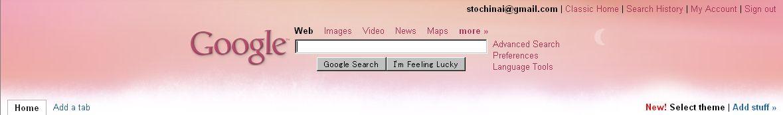 Personalized Google Home にテーマが誕生_c0025115_22613100.jpg
