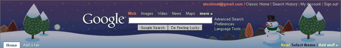 Personalized Google Home にテーマが誕生_c0025115_2285970.jpg
