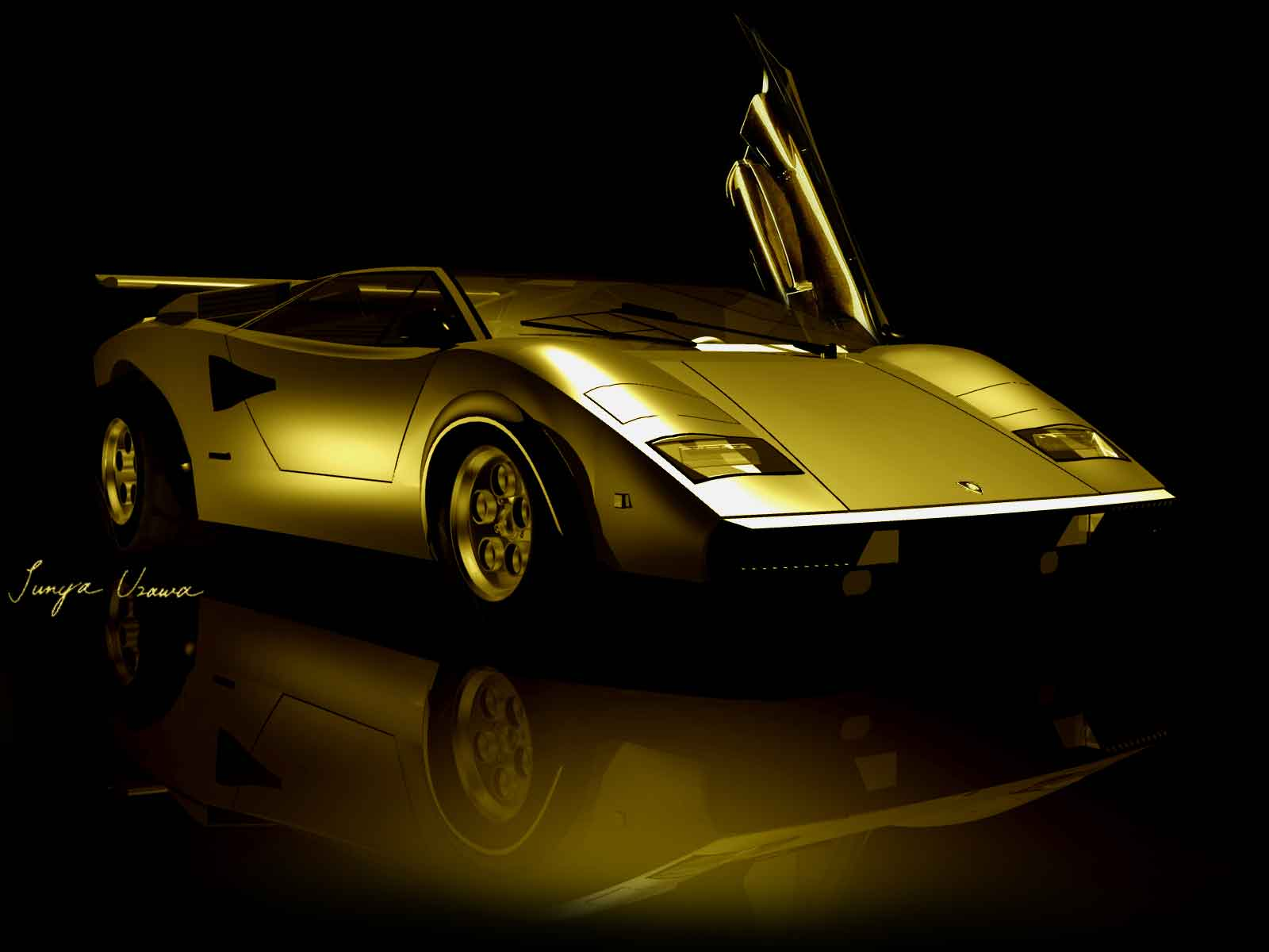Lamborghini Countach Wolf Version