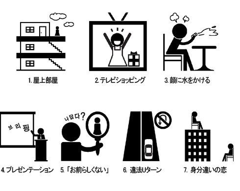 ファンならとっくに気づいてる? 「韓国ドラマの7つの掟」。_c0016141_9585931.jpg