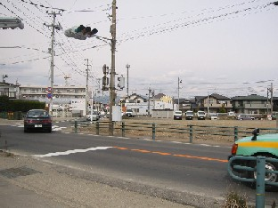 飯坂古道の泉付近を確認中_a0087378_10125338.jpg