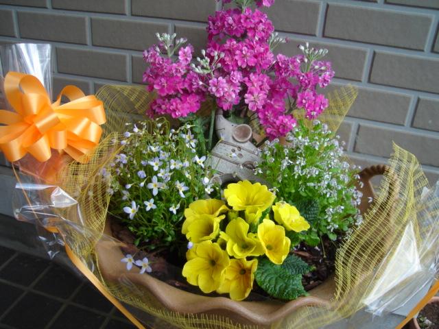 では、記念の花束を・・・!_a0025572_23451290.jpg
