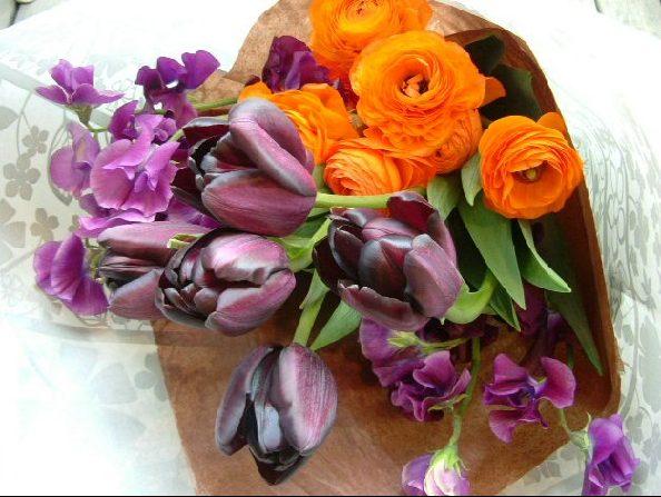オークリーフ(YUKAさんの花束)_f0049672_1223775.jpg