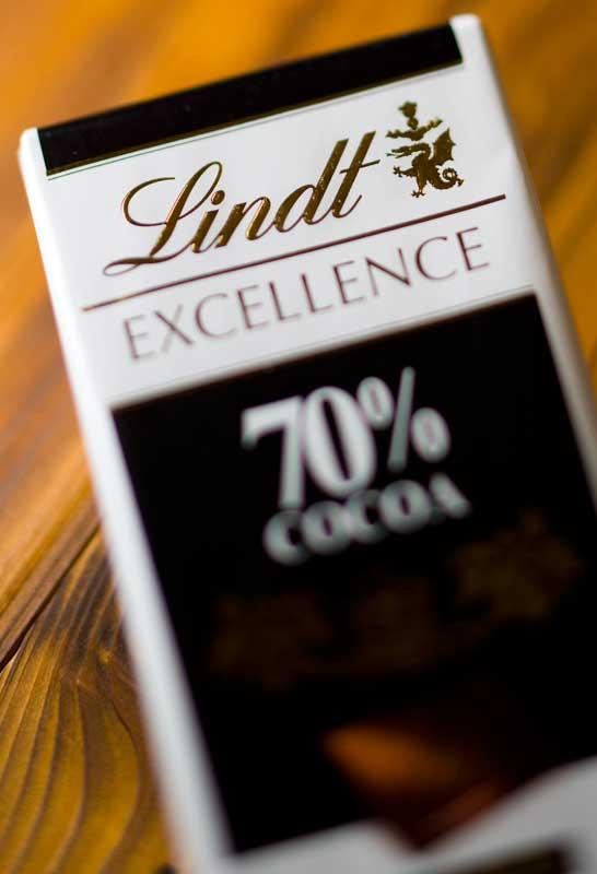 リンツ・チョコレート 70%カカオ 95円_f0137375_16505138.jpg