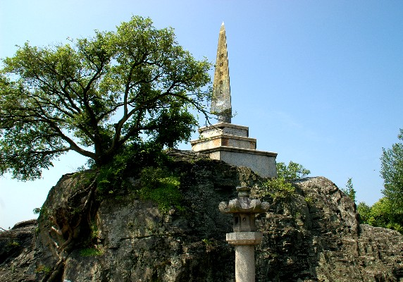 和歌山城の石垣と 「天妃山」(てんぴざん)_b0093754_0273725.jpg