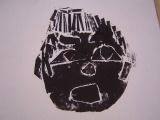 1年生 楽しい顔の紙版画2_c0052304_6141349.jpg