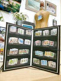 写真切手とストックブック : gre...