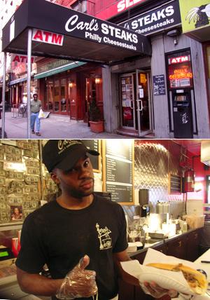 NY No1のフィリー・チーズステーキのお店 Carl\'s Steaks_b0007805_9133784.jpg