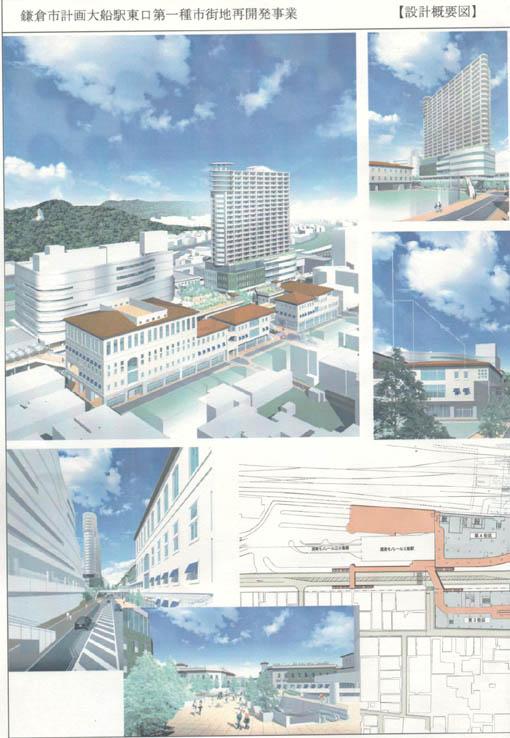 ここが変だよ、鎌倉市(3)大船駅東口に90メートルビル・中_c0014967_11564658.jpg