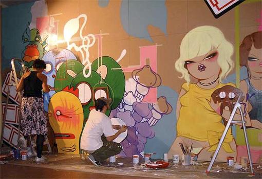 ひさぶりにストリートアートと、NANO4814のこと。_a0077842_1895151.jpg