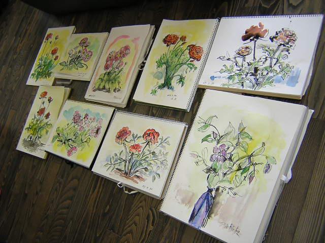 今日は編み物・水彩画教室でした(^_^)_c0113948_16134876.jpg