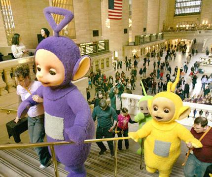 テレタビーズが10周年記念旅行でニューヨークへ!_b0007805_10521039.jpg