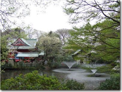 4月2日井の頭神社