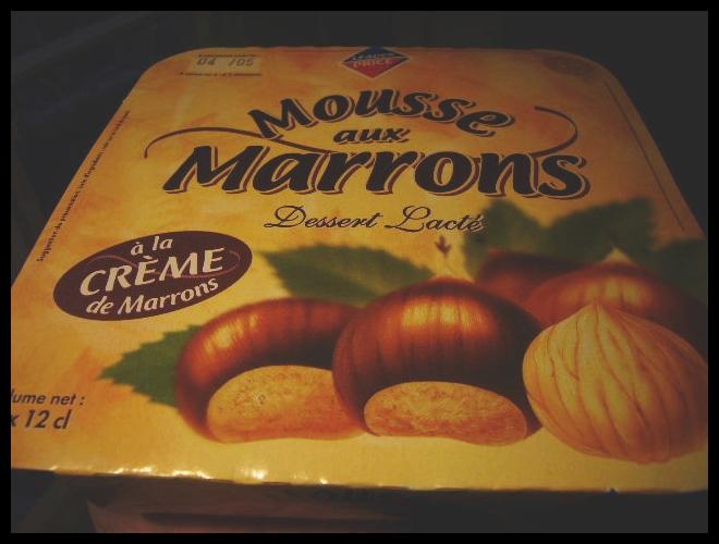 ■やっと見つけたムース・マロンMOUSSE MARRON_a0014299_19523058.jpg