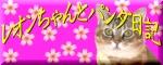 レオンちゃんとパンダ日記