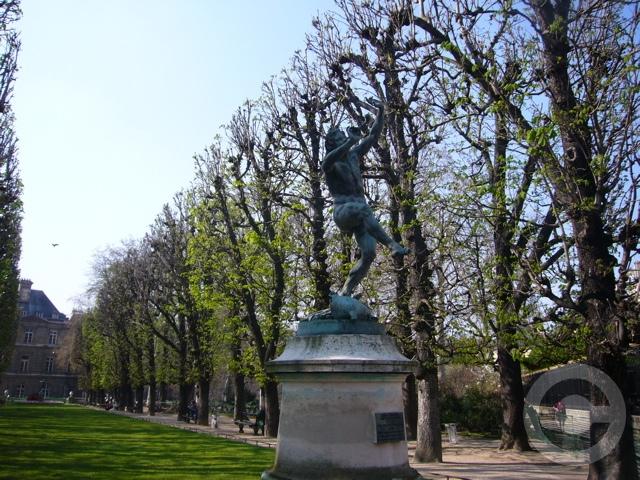 ■最近のリュクサンブルグ公園(PARIS)_a0008105_21305618.jpg