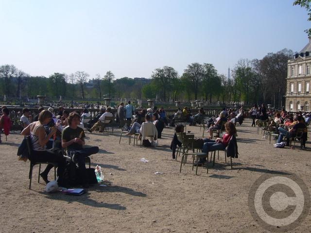 ■最近のリュクサンブルグ公園(PARIS)_a0008105_21322089.jpg