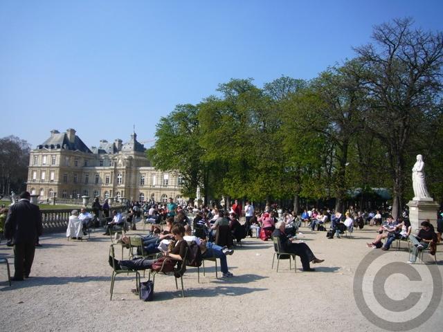 ■最近のリュクサンブルグ公園(PARIS)_a0008105_21324070.jpg