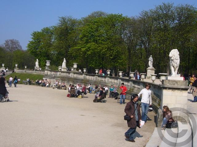 ■最近のリュクサンブルグ公園(PARIS)_a0008105_21331518.jpg