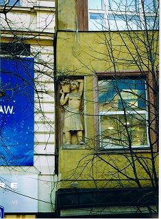"""プラハ ヴァーツラフ広場の建物  """"2003中欧_c0087349_16153881.jpg"""
