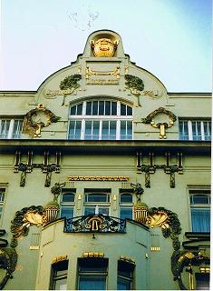 """プラハ ヴァーツラフ広場の建物  """"2003中欧_c0087349_16163028.jpg"""