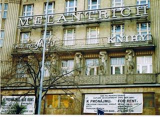 """プラハ ヴァーツラフ広場の建物  """"2003中欧_c0087349_16171646.jpg"""