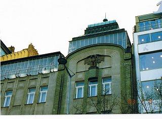 """プラハ ヴァーツラフ広場の建物  """"2003中欧_c0087349_16173323.jpg"""