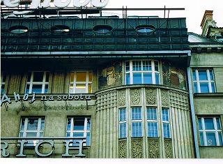 """プラハ ヴァーツラフ広場の建物  """"2003中欧_c0087349_16181344.jpg"""