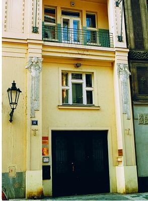 """プラハの建物  """"2003中欧_c0087349_8264767.jpg"""