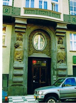 """プラハの建物  """"2003中欧_c0087349_827631.jpg"""