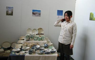 岩崎多栄子陶芸展レポート_a0017350_23172735.jpg