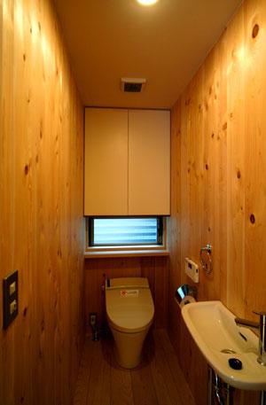 桜見の家 2階トイレ_b0015157_0234474.jpg