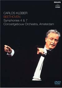 Carlos Kleiber and Concertgebouw Orchestra Amsterdam / Beethoven Symphonies 4 and 7 (DVD)_d0102724_4355591.jpg