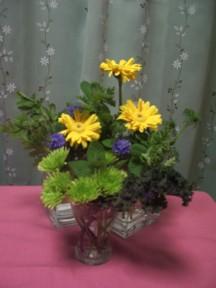 <ハーブ>を使った花あそび_e0023471_11382192.jpg