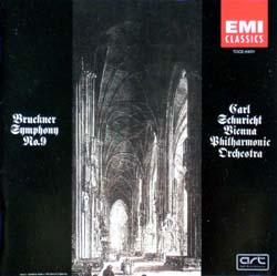 Carl Schuricht + Vienna Philharmonic Orchestra / Bruckner Symphony No.9_d0102724_1391464.jpg