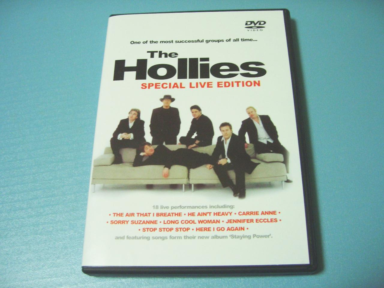The Hollies / The Hollies Special Live Edition_c0062649_2213337.jpg
