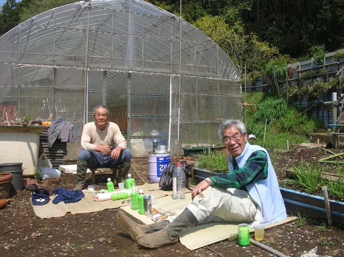 モッコウバラとそのはるか先に富士山&至福の瞬間_c0014967_12385248.jpg