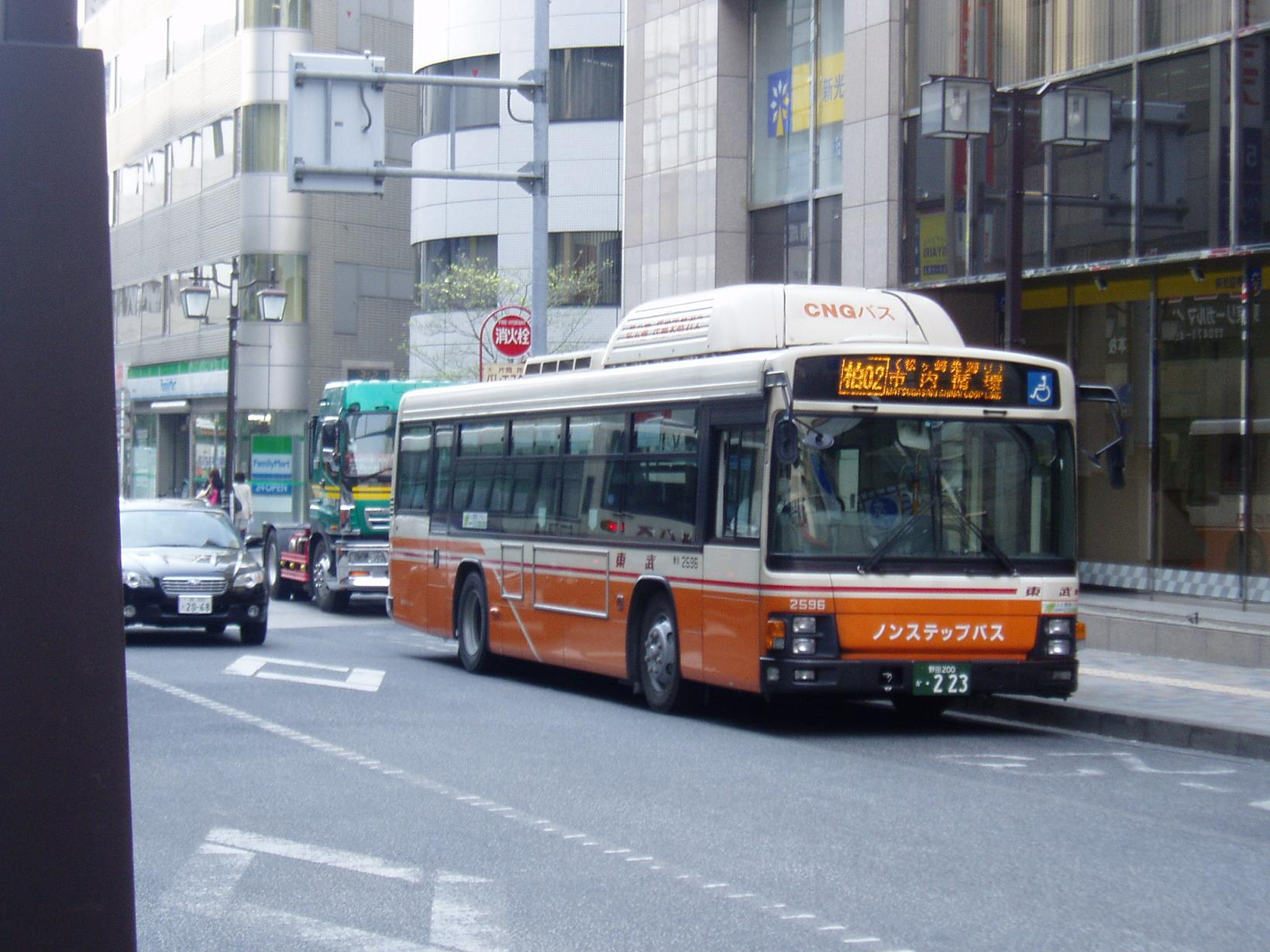東武バスイースト(市内循環) : バスマニア