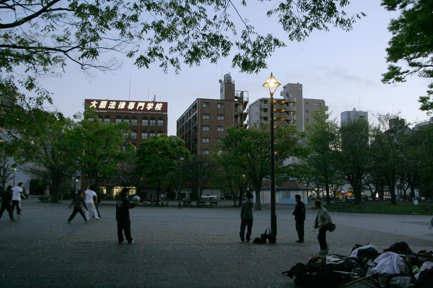 反町公園夕景_b0023523_0133348.jpg