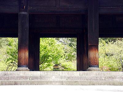 南禅寺 (立派な三門。初めて見た様に感心しました。)_f0012154_10381447.jpg