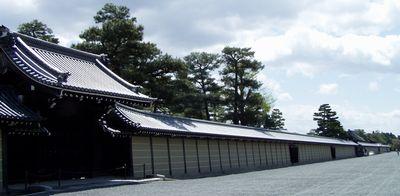 京都御所のさくらは満開 (事前予約しないと見学できません。)_f0012154_116471.jpg