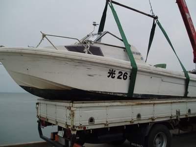 教習艇搬送_a0077071_7542262.jpg