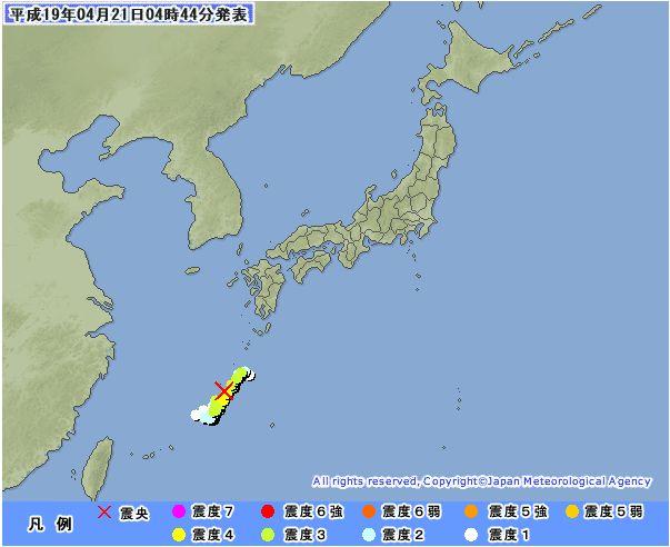 """■沖縄M5.9の地震発生と、実験メール【№2007042015\""""特例\""""の結果報告】_e0006509_9484071.jpg"""