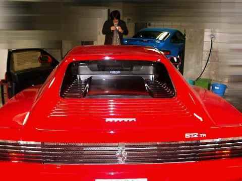 また続編! ときにはフェラーリ!そして512TRとF430と!_f0056835_0551320.jpg