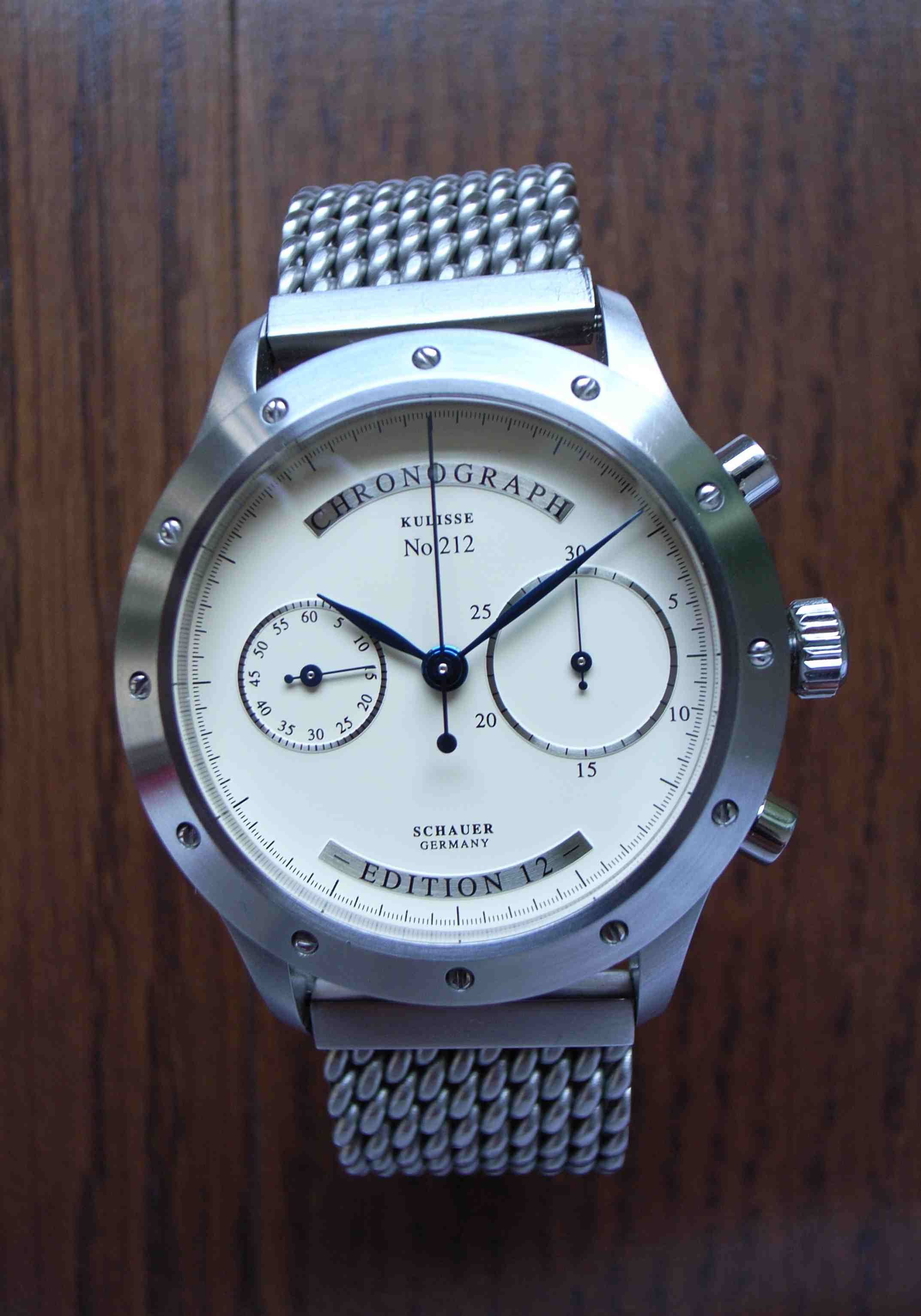 marine klassik on schauer stowa watches review hands leave