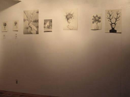 Oh,これ、栄通さんの撮影です〜。★木村環作品展  「Life Goes On」♪