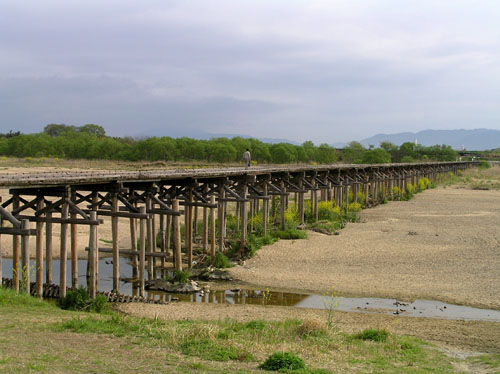 八幡市 流れ橋_e0048413_212139.jpg