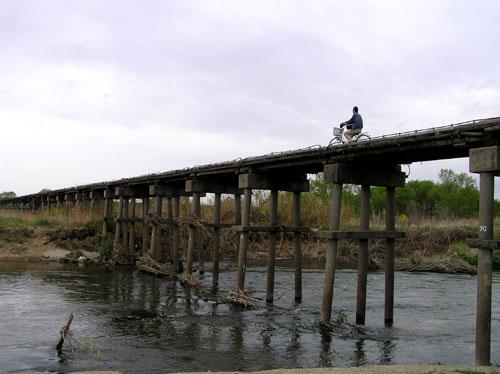 八幡市 流れ橋_e0048413_2122240.jpg
