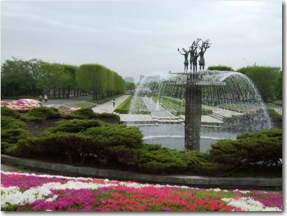 4月24日カナールの噴水