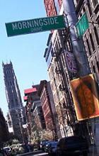 高台からマンハッタンを見晴らすモーニングサイド・ドライブ_b0007805_11551420.jpg